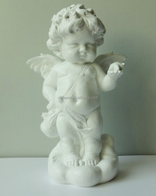 2016 hot sale new arrival large size naked vivid cupid statue figurine with wings