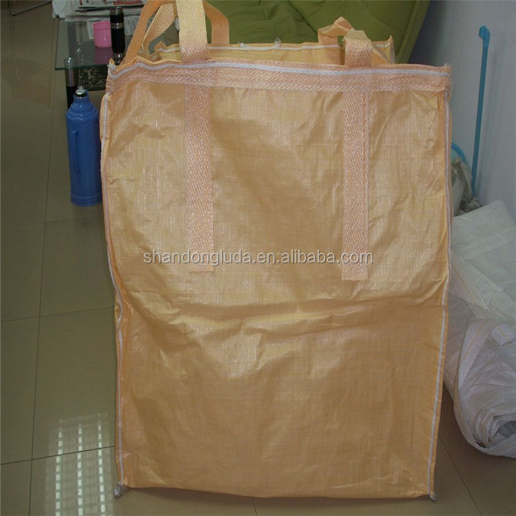 2 ton PP bulk bag for building rubble pp woven used pp jumbo bag pp big bag ton bag