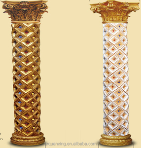 decorative gypsum roman house pillar for homes