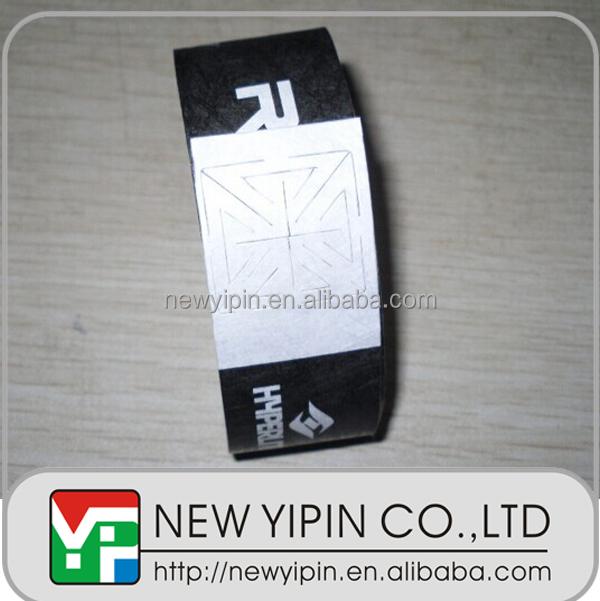 Cheap custom written paper wristbands