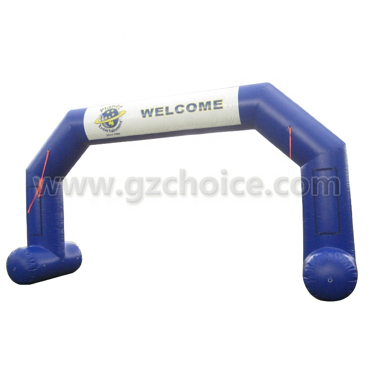 Giant customise design inflatable ballon welcome arch door