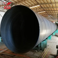 Welded Steel Pipe X42 X46 X52 X70 API 5L PSL1 Standard Used For Oil And Gas Pipelines SSAW Spiral