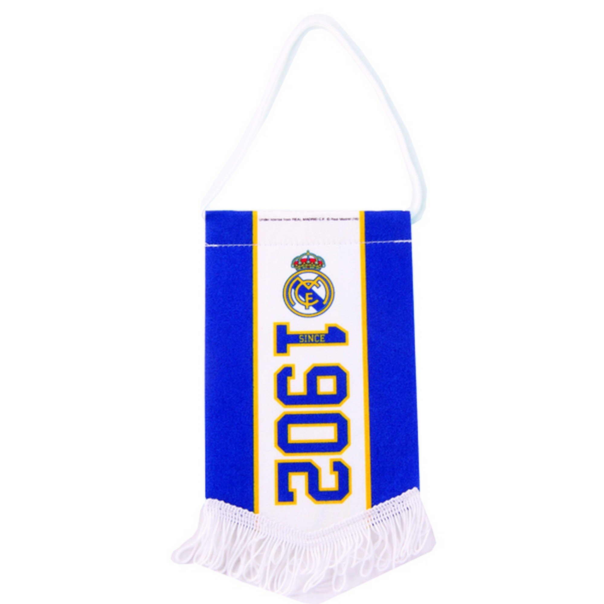 Real Madrid CF Official Established Football/Soccer Crest Pennant