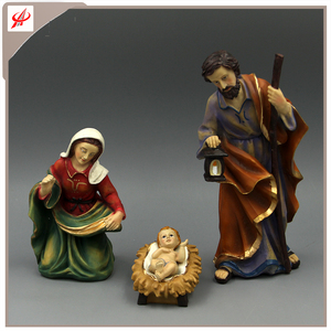 Polyresin Decorative Nativity Sets Resin + Stone Powder Holiday Nativity Set