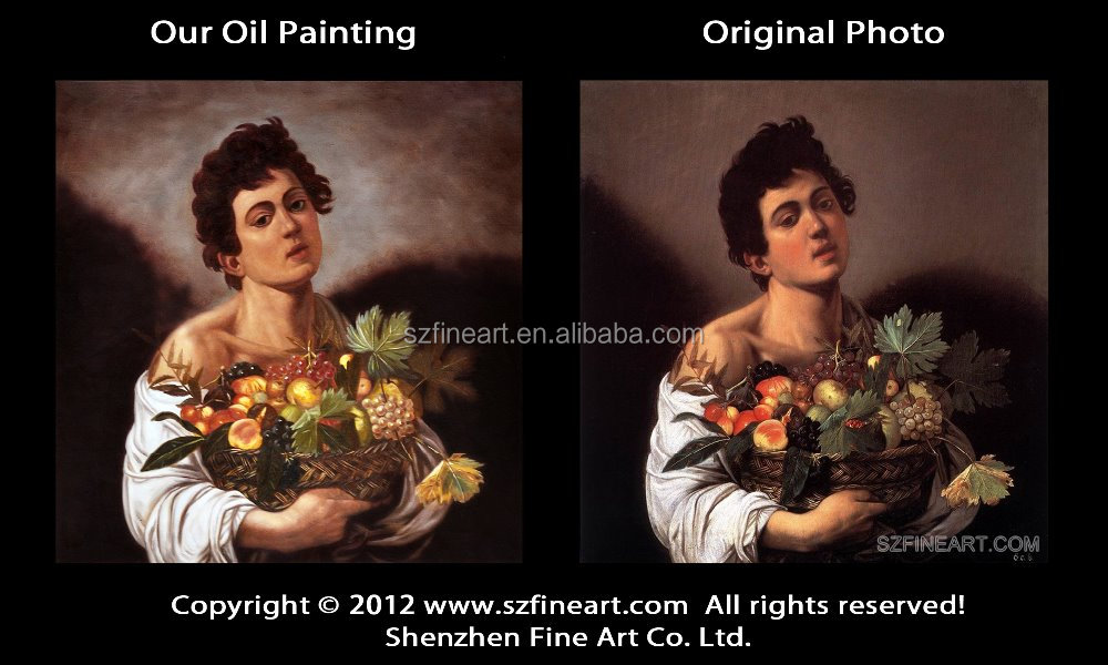 Best Price High Quality Famous Caravaggio Art Painting