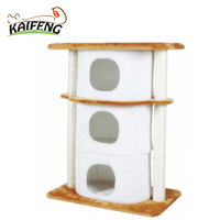Customized Variety Designs Luxury Pet Supply Best Cheap Indoor Cat Play House Bed