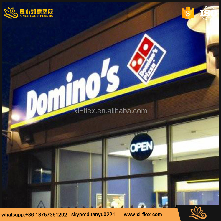 indoor and outdoor light box advertising backlit flex banner printing
