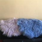 Wholesale price long hair fur sheep skin rugs