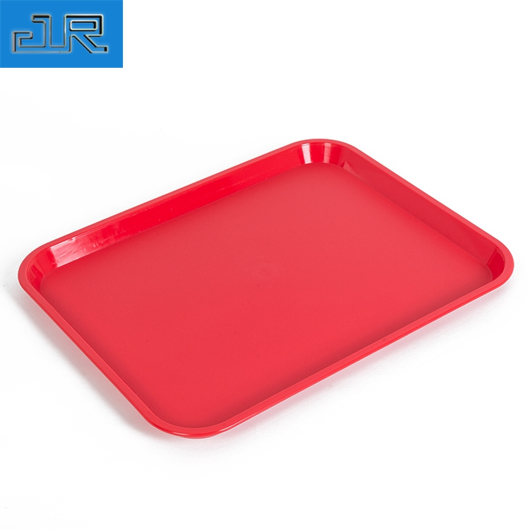 Cheap Fast Food Non-slip Plastic Serving Trays