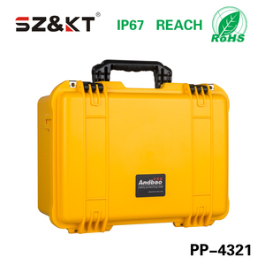 hard plastic equipment tools packing carrying case