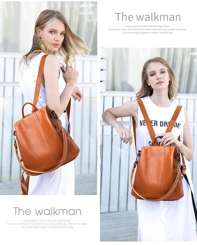 2018 autumn new fashion wild women's backpack