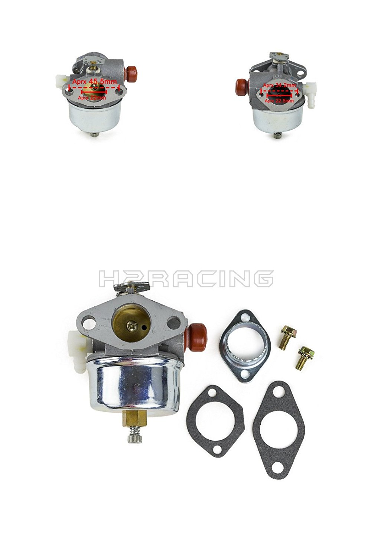 H2RACING Carburetor Carb 632795A for Tecumseh TVS75 TVS90 TVS100 TVS105 TVS115 TVS120,TVS,ECV and LAV Engines