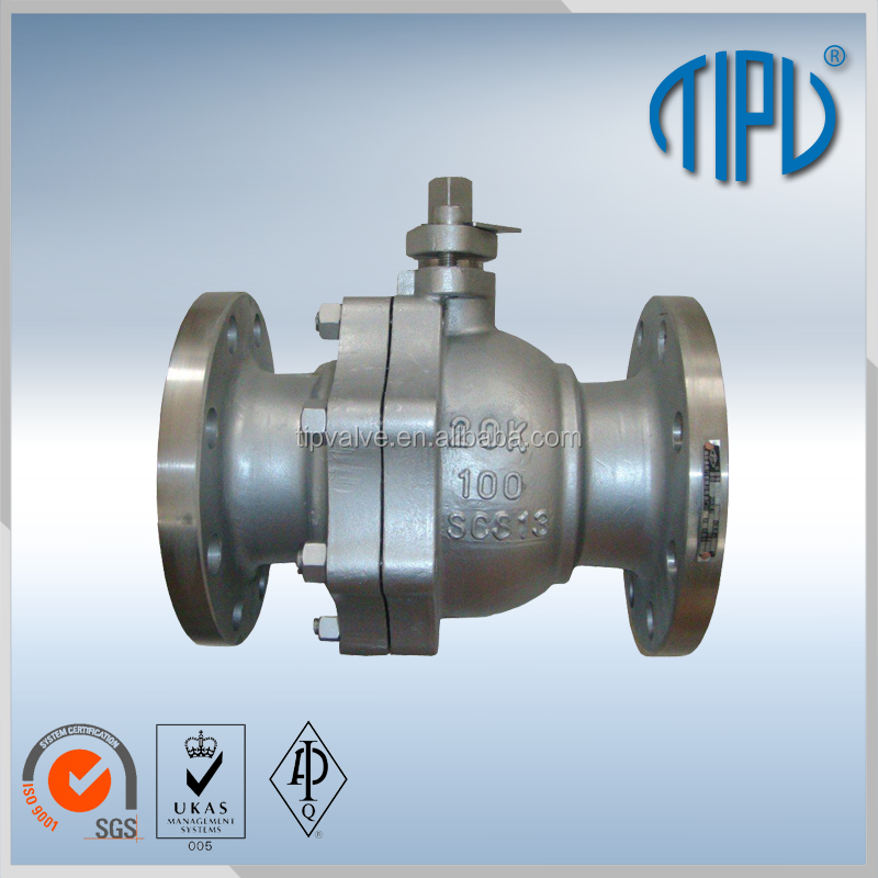 Tip Brand Pneumatic Actuator Lpg Ball Valve For Industry