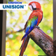 Unisign Digital Printing 100% Polyester Pearl Backlit Fabric