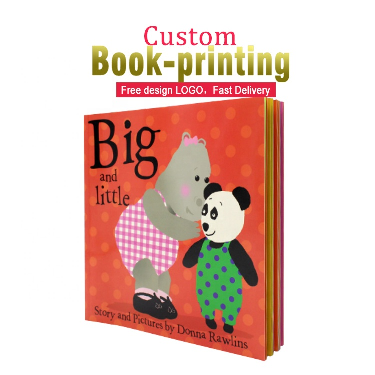 custom print child kids coloring books early education softcover book printing manufacture