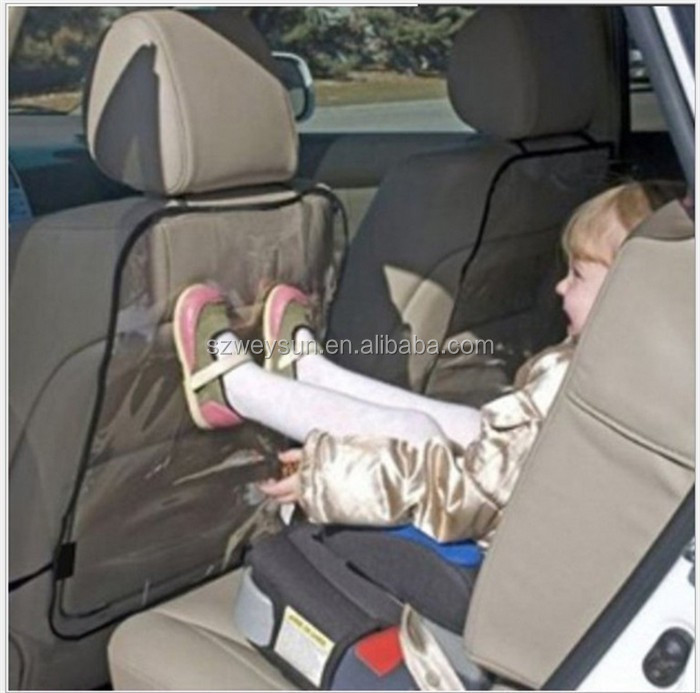 2016 new 1pc kids car auto seat back protector cover for children kick mat mud cleaner
