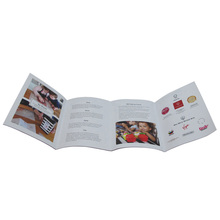 Wholesale custom print paper brochure and leaflet