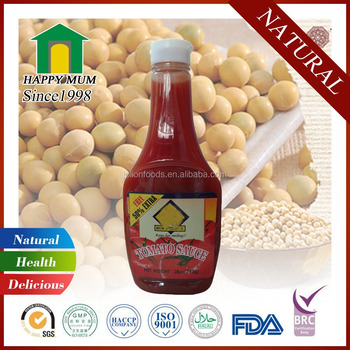 2019 Natural Tomato Ketchup Factory with ISO9001 Certificate