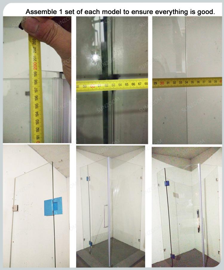 sunzoom curved glass shower doorcurved shower door glass shower door hardware