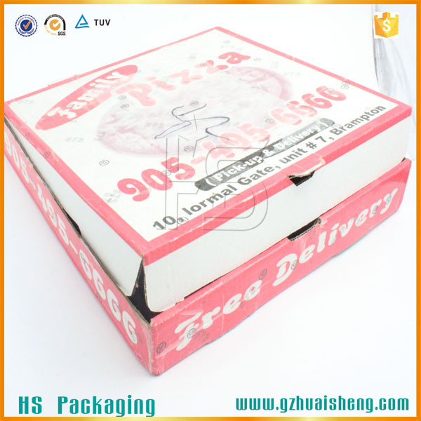 Disposable Paper Fast Food Packaging Box,Pizza Box