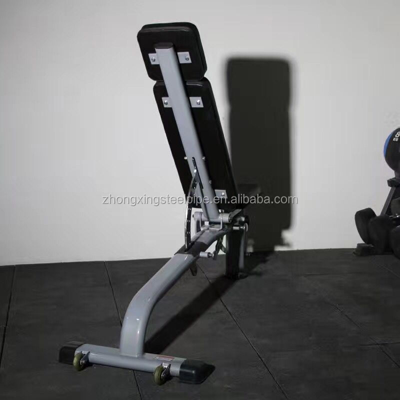 Commercial sit-up adjustable bench flat/incline/decline