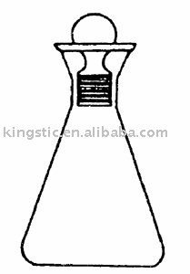 glass IODINE FLASK