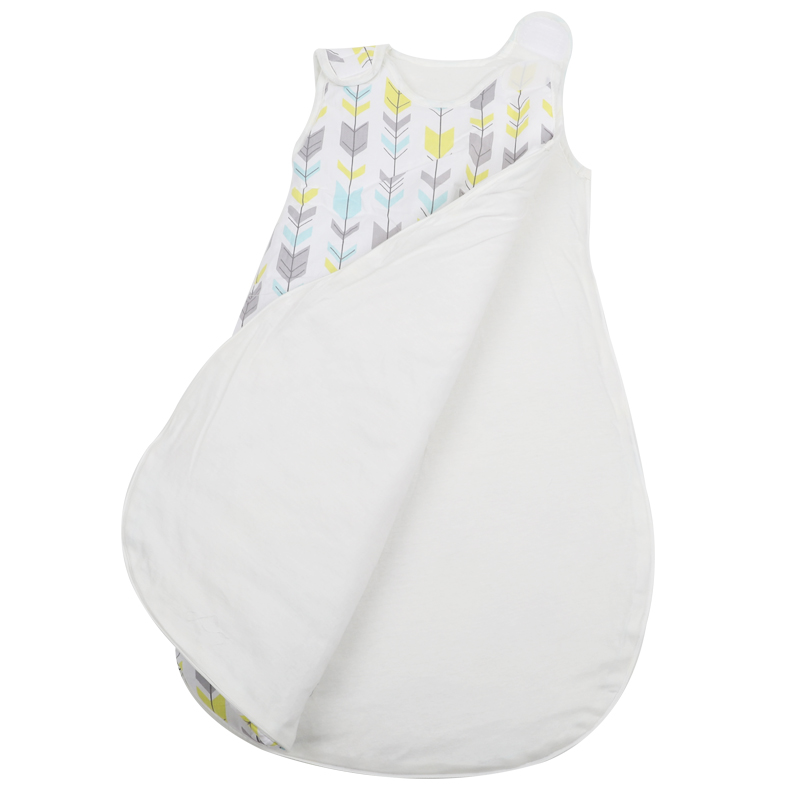 Wearable baby blanket snuggle sleepsack 0.5 tog 2.5 tog cotton baby sleeping bags