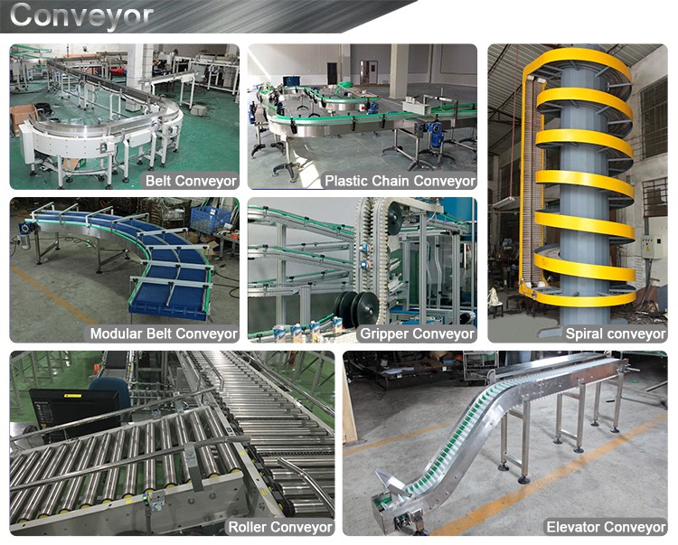 High quality 90 degree Curve PVC Belt conveyor for production line