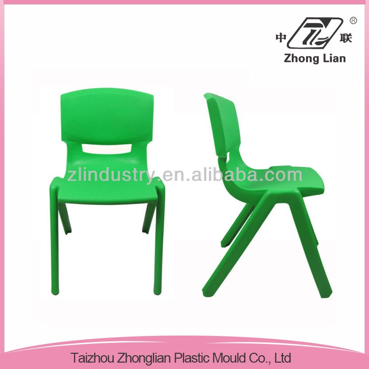 High quality injection mold stackable student plastic pp school chair