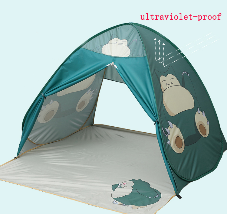 Automatic open pop up kids children play tent