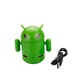 Lovely robot shaped micro android 2.0 usb man hub for promotional gifts