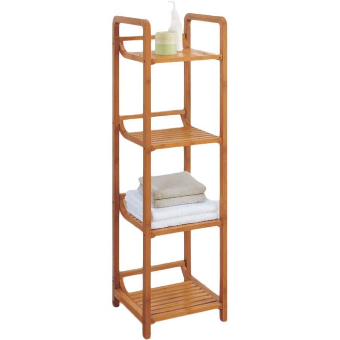 bamboo-bathroom-shower-towel-standing-shelves
