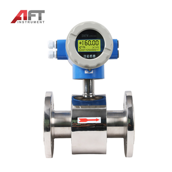High performance Pulse Output sewage treatment chemical liquid water flow meter