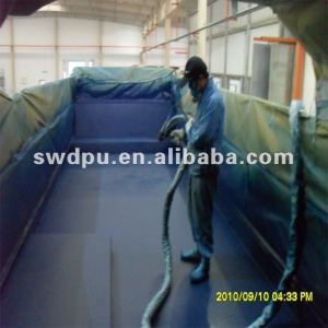 SWD two pack pure polyurea anticorrosive coating