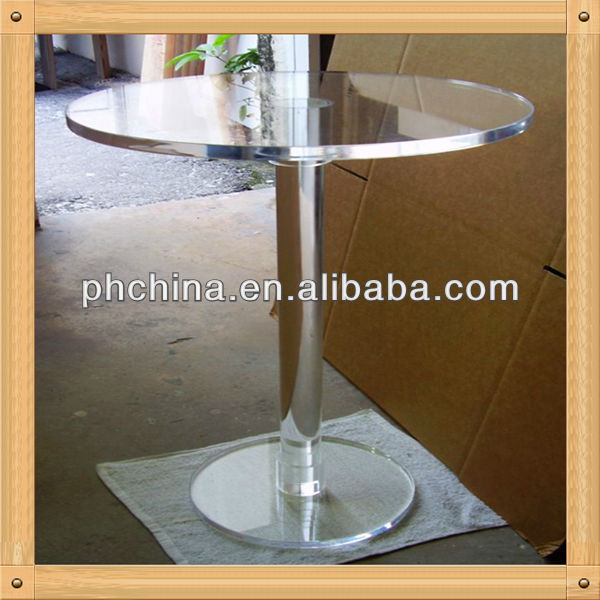 An-c147 European Design Factory Sell Korean Dining Table/l Shaped Dining Table/Plexiglass Dining Table