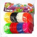 free shipping 400pcs lot Baby Block Toys 5 5cm Snow blocks Snowflake block toy children DIY