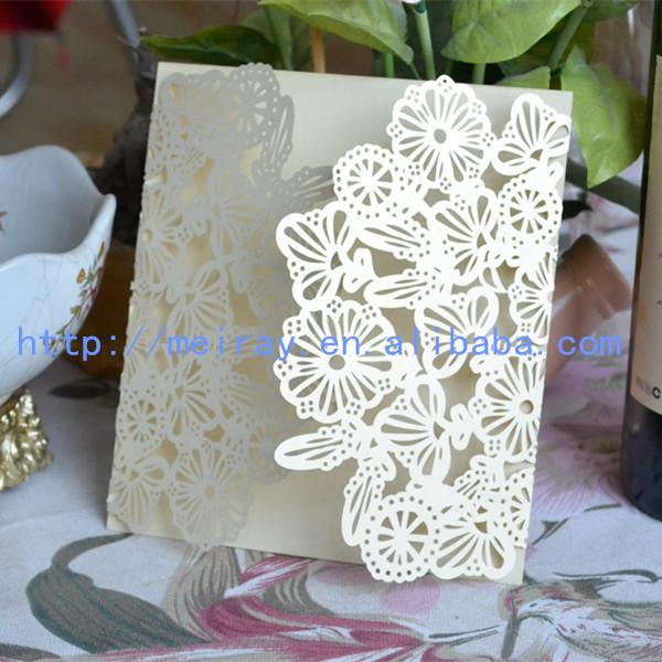 Wedding Invitation Laser Cut CardsElegant Laser Cut Invitation – Card for Wedding Invitations Supplies