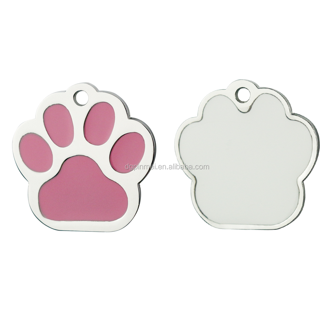 High quality anodized  personalized custom epoxy pet dog tag