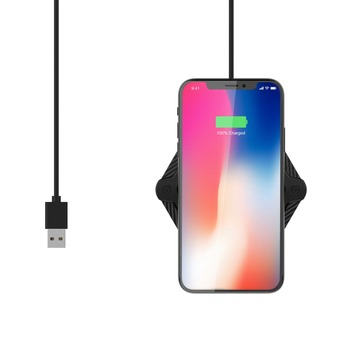 10W qi wireless charger for iphone x and sumsang