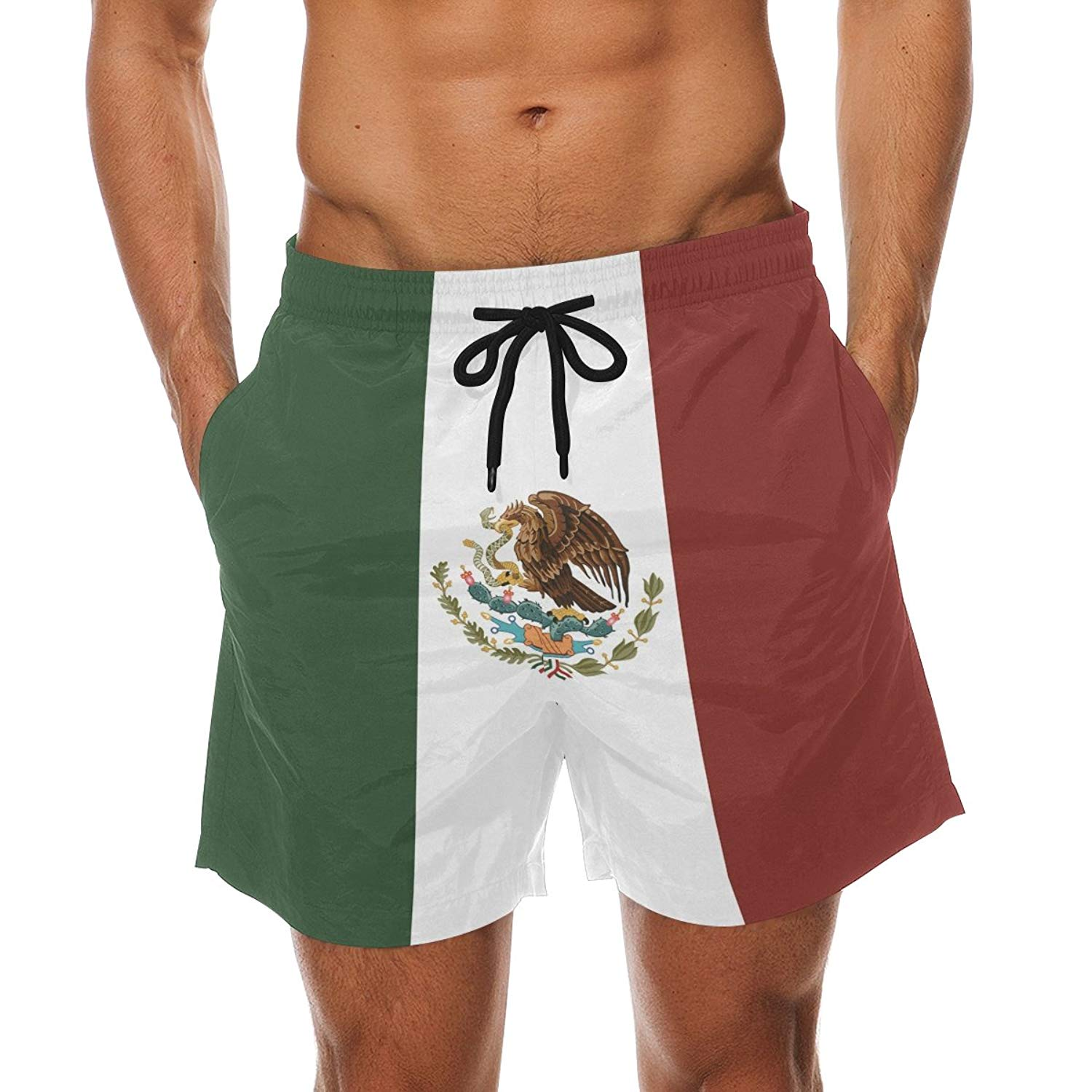 fd7f29282c Buy Mens New Mexico State Flag Summer Swim Trunks Cargo Quick Drying ...