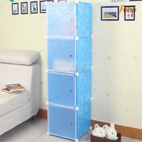 Creative design plastic garage cabinet with Independent door FH-AL0017-4