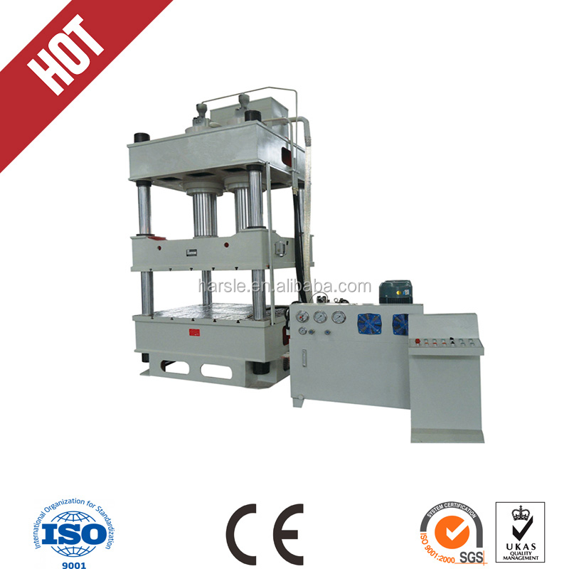 four poles hydraulic press , plate hydraulic press machine