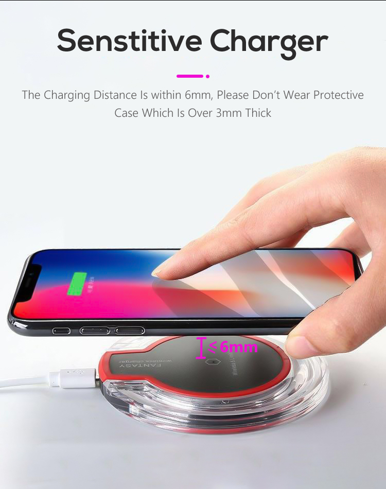 mobile phone universal wireless charging qi 5w fast wireless charger