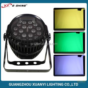 China Led Pan Cans Par Led 18x10w Led Par Zoom Stage Light
