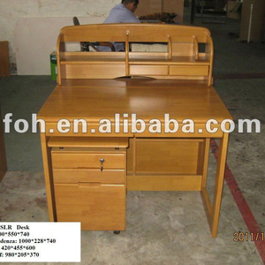 Modular Student Dormitory Desk, Home Bedroom Desk of Different Material Options (FOH-100SLR)