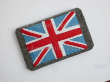Fashion flags felt phone case