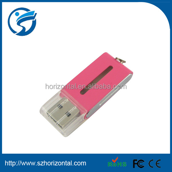 Top quality plastic stock market price plastic usb otg usb 128gb