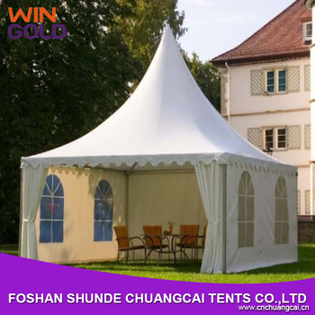 2016 The Best Marquee Dubai Pagoda Tent With Clear Windows
