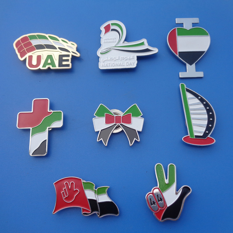 Uae National Day Gifts Burj Khalifa: 2016 Uae 45th National Day Gifts! Various New Design Pins