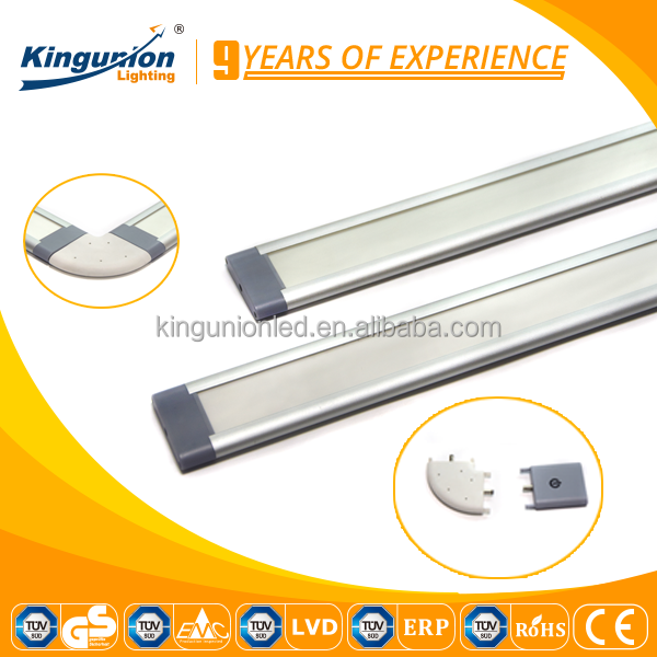 Kingunion plastic tube led strip waterproof 2835 warm white Cabinet led strips 500mm 1000mm led strip for clothes